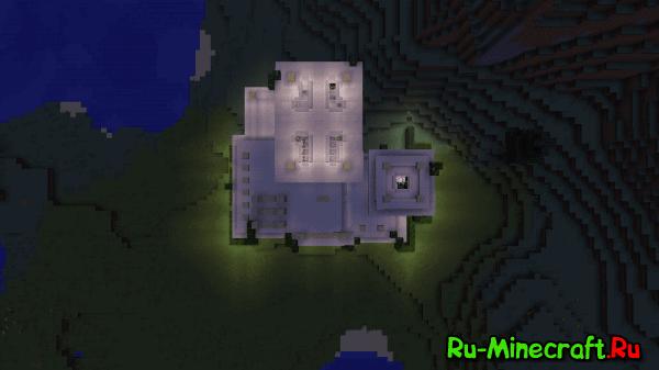 [Map][1.8.9] Modern House - Современный дом
