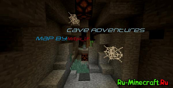 """[Map] Карта в стиле """"Приключения"""" - Пещерные похождения"""