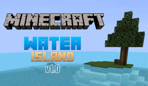 [Map][1.9+] WaterIsland v1.0 -  Выживи на необитаемом острове!