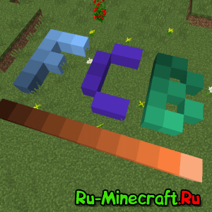 Flat Colored Blocks [1.12.2] [1.11.2] [1.10.2] [1.9.4] [1.8.9]