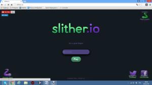 [Разное] Slither.io - Ремейк старых змеек