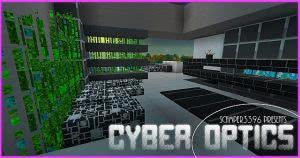 [1.8.9][32x32] Cyber Optics HD - качественный киберпанк-ресурспак