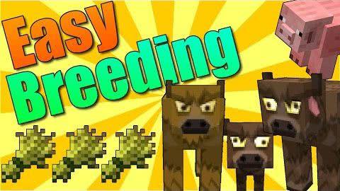 Easy breeding - простое размножение [1.17] [1.16.5] [1.14.4] [1.12.2] [1.11.2] [1.10.2] [1.7.10]