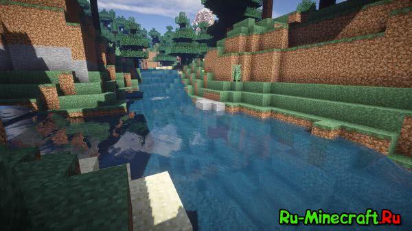 Streams mod - реалистичная вода [1.12.2] [1.11.2] [1.10.2] [1.9.4] [1.8.9] [1.7.10]