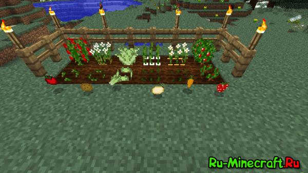 HarvestCraft - еда [1.12.2] [1.11.2] [1.10.2] [1.9.4] [1.8.9] [1.7.10] [1.6.4] [1.5.2]