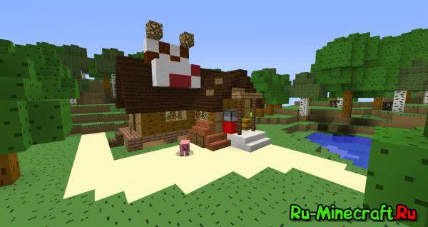 [1.9][16x16] Gravity Falls Resource Pack - текстуры по мультфильму Gravity Falls