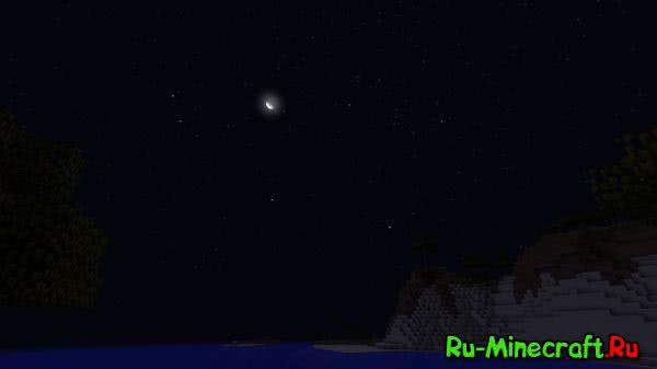 Stellar Sky - небо с звездами [1.12.2] [1.11.2] [1.10.2] [1.9.4] [1.8.9] [1.7.10]