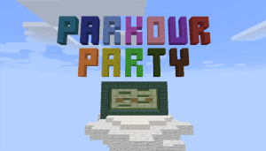[Map][1.9.2]Parkour Party-Разнообразный паркур.