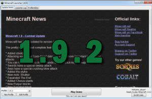 Скачать майнкрафт 1.9.2\1.9.4