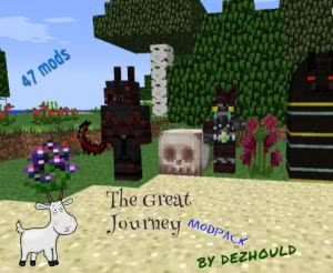 [Modpack][1.7.10] The Great Journey - удобство и RPG