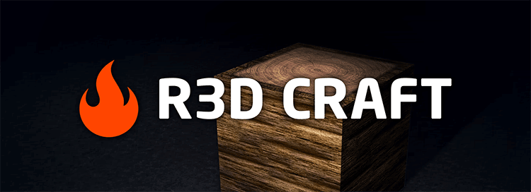 [1.10][32x-512x] R3D.CRAFT - Качественный текстур-пак теперь на 1.10