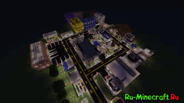 [Карта][1.6.4-1.9] MiniCity - мини город с большими возможностями
