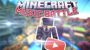 [Video] MINECRAFT MUSIC BATTLE - Мини Ютуб игра на знание современной музыки!