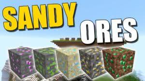 [Мод][1.9] Sandy Ores - Лёгкие ресурсы