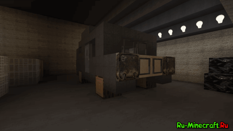 Карта horror для майнкрафт 1.10.2