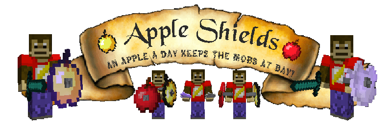 Apple Shields Mod [1.11.2] [1.10.2] [1.9.4]