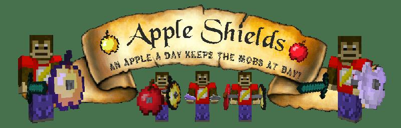 Apple Shields Mod [1.11.2] [1.10.2] [1.9.4]