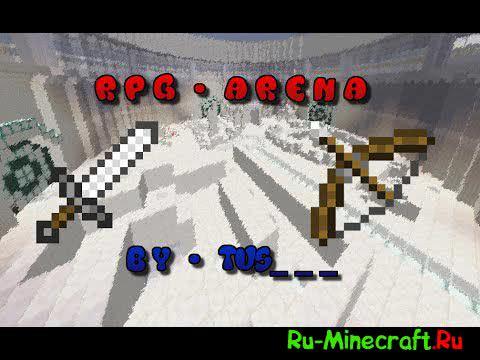[Карта][1.10.2] RPG - моб арена