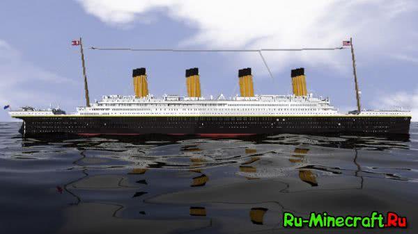 """[Карта] """"R.M.S """"TITANIC"""" — корабль-легенда!"""