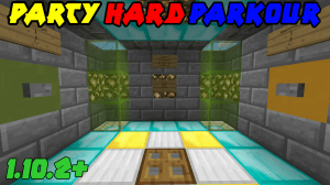 [Map][1.10.2+] Party HARD Parkour v2.0