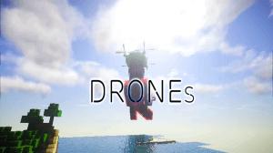 CustomDrones - дроны, квадрокоптеры [1.10.2] [1.9.4] [1.8.9]