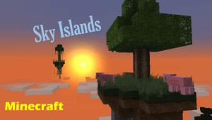 Sky islands – карта для minecraft [Map][1.8+]