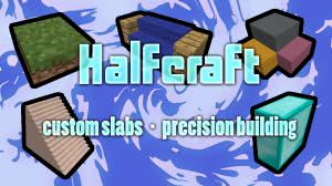 [Команда] [1.9+] Halfcraft - Летающие блоки и кастомные плиты!