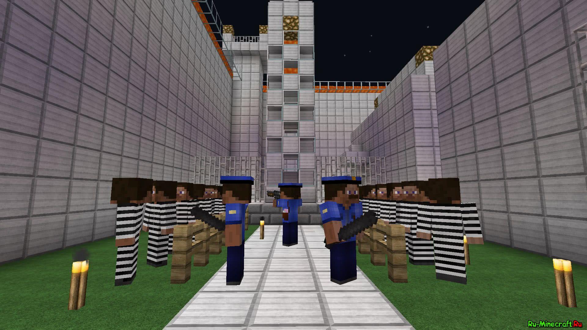 скачать карту на прохождение майнкрафт 1.7.10 тюрьма