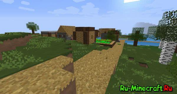 [1.10.2][16x16] Rustic Flow Resource Pack - ресурспак с сельским характером