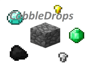 [1.7.10, 1.10.2]CobbleDrops - ресурсы из ничего!