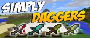 [1.7.10]Simply Daggers - Кинжалы