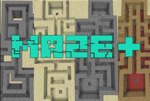 [Map][1.10.2]Maze Plus - пройди лабиринт, если не трудно