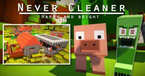 Never Cleaner - картонный ресурспак [1.11.2|1.10.2][64x]