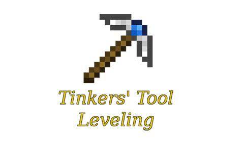 Tinkers' Tool Leveling - прокачай свою кирку! [1.12.2] [1.11.2] [1.10.2]