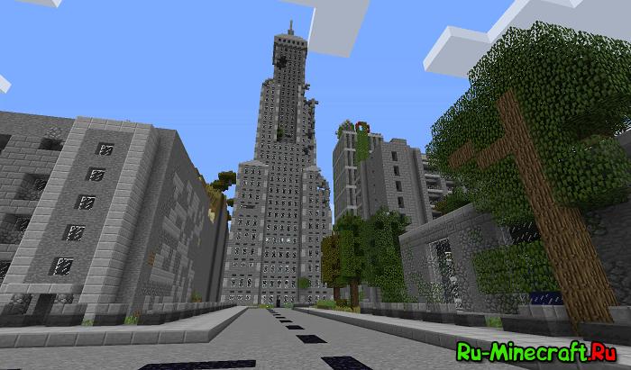 [MAP][1.10.2] Апокалипсис в Minecraft