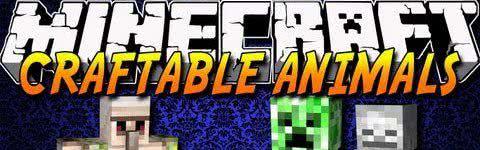 Craftable Animals - Скрафти моба[1.11.2|1.10.2|1.8|1.7.10|1.6.4|1.5.2]