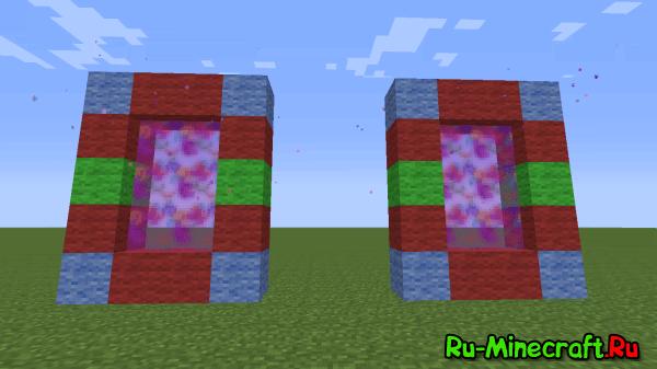 Colourful Portals -Порталы в майнкрафт? [1.7.10-1.6.2]