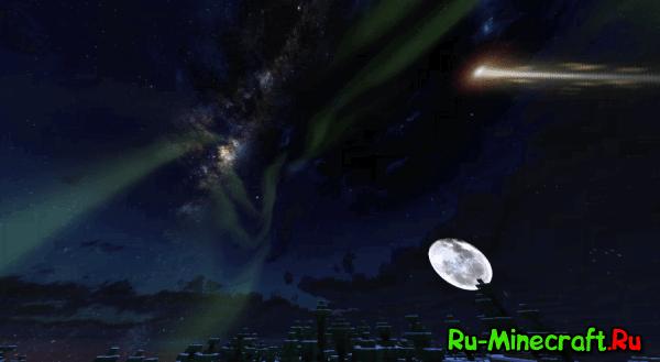 Sky Realism - ресурс-пак с красивым небом  [1.9-1.10+]