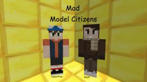 Model Citizens - делаем статуи из моделей игроков [1.7.10]