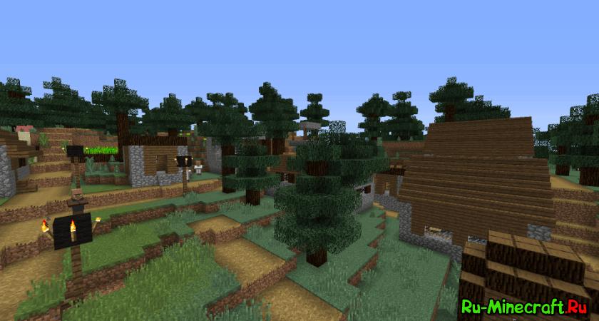 Mo'Villages — новые деревни! [1.12.2] [1.11.2] [1.10.2] [1.8.9] [1.7.10]