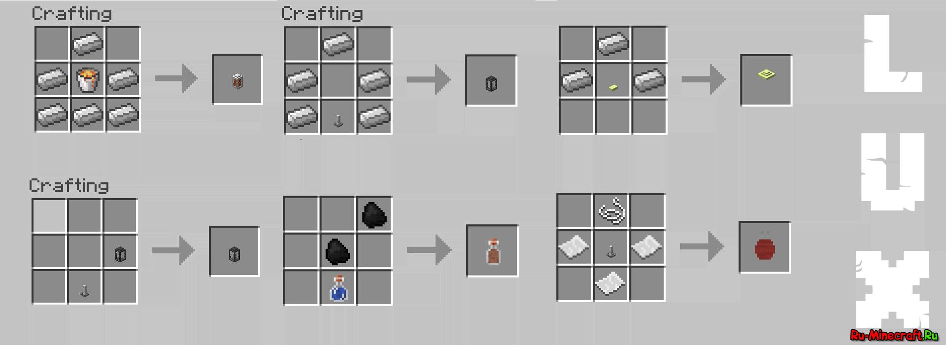 Как сделать свечу в minecraft