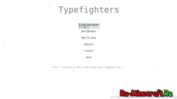 [Разное] Typefighters – ваша клавиатура может быть сильнее меча!