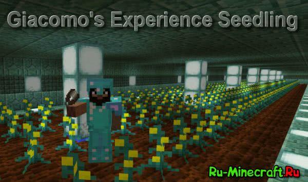 Giacomo's Experience Seedling - выращивай опыт [1.12.2] [1.11.2] [1.10.2] [1.9.4] [1.8]
