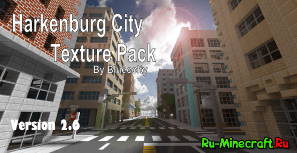 Harkenburg City Texture Pack - городской ресурспак [1.12|1.11.2][16x]