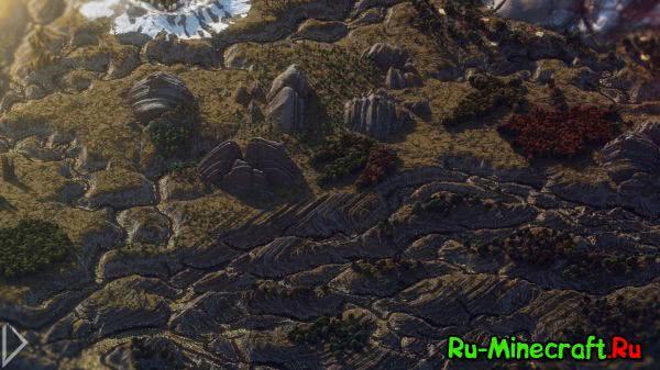 Iaven: Magic of Colors - Титанический масштаб! [1.8+][Map]