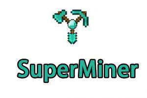 SuperMiner - авто действия [1.12.2] [1.11.2] [1.10.2] [1.9.4] [1.8.9] [1.7.10]