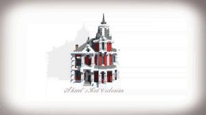[Map] Ahzvel's Red Victorian — восхитительное поместье викторианской эпохи