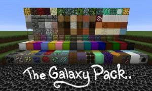 The Galaxy Pack - мультяшый ресурспак [1.12.2] [1.11] [64px]