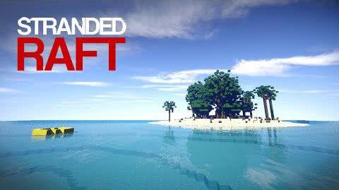 Stranded Raft - островки [Карта][1.8+]