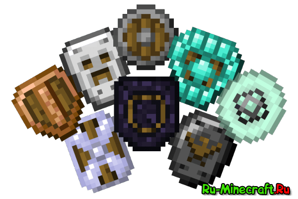 Spartan Shields - новые щиты [1.15.2] [1.14.4] [1.13.2] [1.12.2] [1.11.2] [1.10.2]